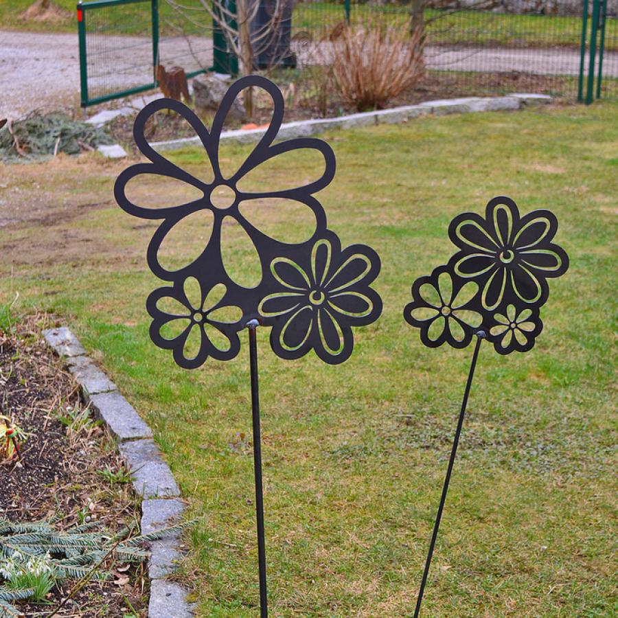 Blumen/Edelrost