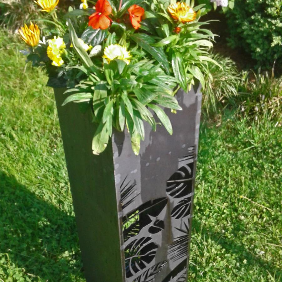 Blumensäule/Edelrost